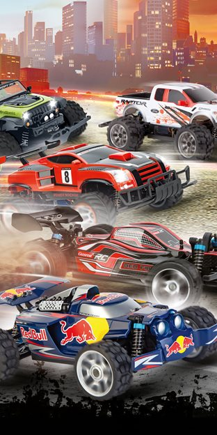 Car racing tracks and remote-controlled cars from Carrera  | Carrera