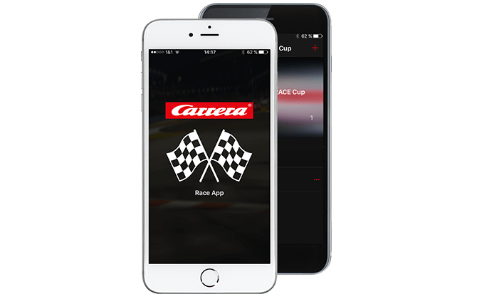 Carrera Race App - smart technology at the racetrack | Carrera